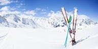 מגלשיים של סקי בשלג