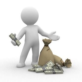 דמות ולידה שק של כסף