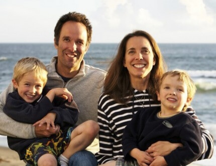 משפחה בצילום משפחתי